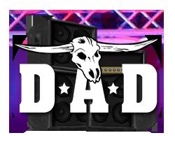 D-A-D Slotmaskinen logo