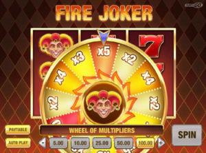 Fire Joker slotymaskinen SS-06