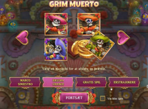 Grim Muerto slotmaskinen SS-01