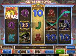 Grim Muerto slotmaskinen SS-02