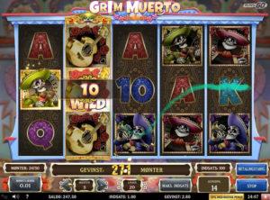 Grim Muerto slotmaskinen SS-04