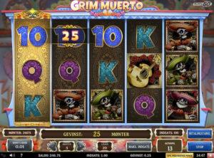 Grim Muerto slotmaskinen SS-05