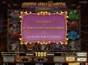 Happy Halloween slotmaskinen SS-03