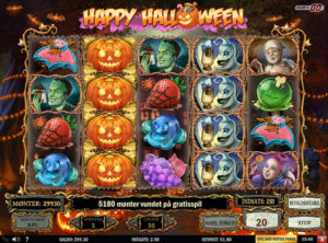 Happy Halloween slotmaskinen SS-06