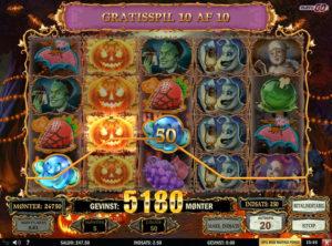 Happy Halloween slotmaskinen SS-07