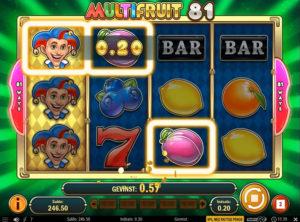 Multifruit 81 slotmaskinen SS-03