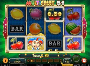 Multifruit 81 slotmaskinen SS-07