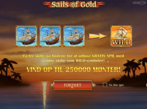 Sails of Gold slotmaskinen SS-01