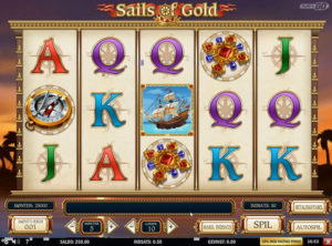 Sails of Gold slotmaskinen SS-02