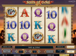 Sails of Gold slotmaskinen SS-05
