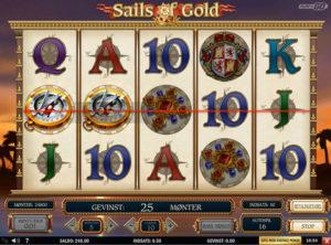 Sails of Gold slotmaskinen SS-06