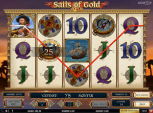 Sails of Gold slotmaskinen SS-07
