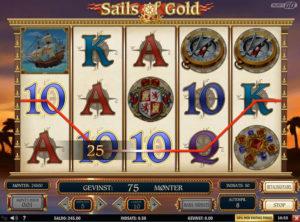 Sails of Gold slotmaskinen SS-08