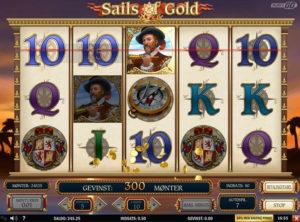 Sails of Gold slotmaskinen SS-09