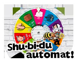Shu-bi-dua Spilleautomaten - logo