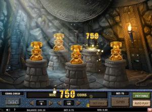 Aztec Idols slotmaskinen SS-07