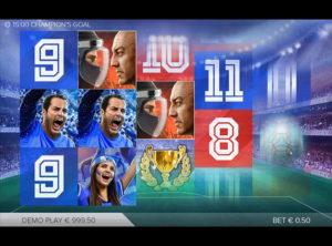 Champions Goal slotmaskinen SS-02
