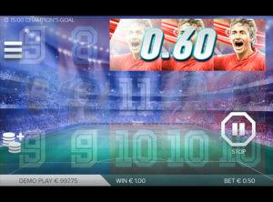 Champions Goal slotmaskinen SS-05