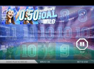 Champions Goal slotmaskinen SS-10