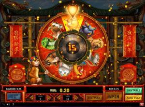 Chinese New Year slotmaskinen SS-07