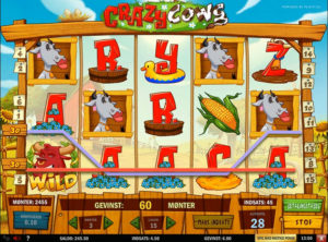 Crazy Cows slotmaskinen SS-02
