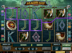 Dragon Ship slotmaskinen SS-04