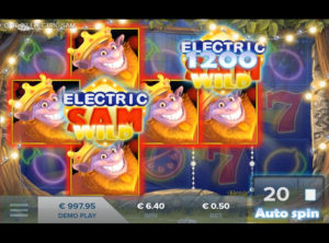 Electric Sam slotmaskinen SS-05