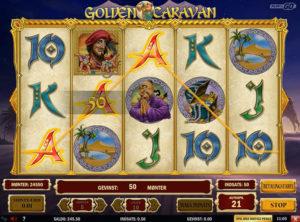 Golden Caravan slotmaskinen SS-05