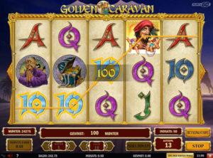 Golden Caravan slotmaskinen SS-08