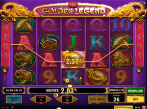 Golden Legend slotmaskinen SS-06