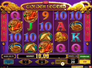 Golden Legend slotmaskinen SS-07