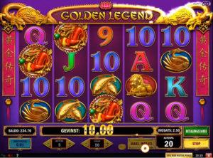 Golden Legend slotmaskinen SS-07