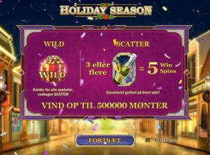 Holiday Season slotmaskinen SS-01