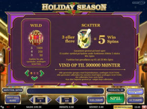 Holiday Season slotmaskinen SS-04