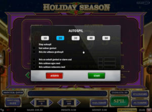 Holiday Season slotmaskinen SS-05