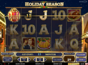 Holiday Season slotmaskinen SS-06