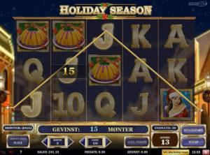 Holiday Season slotmaskinen SS-07