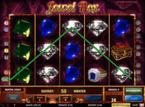 Jewel Box slotmaskinen SS-05
