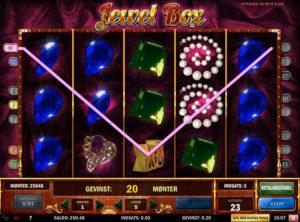 Jewel Box slotmaskinen SS-07