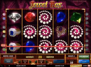 Jewel Box slotmaskinen SS-10