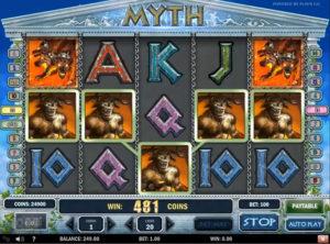 Myth slotmaskinen SS-02