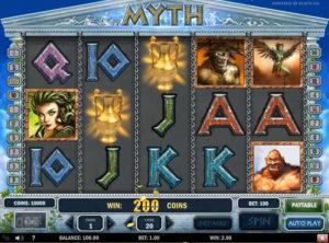 Myth slotmaskinen SS-05