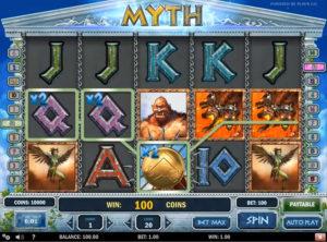 Myth slotmaskinen SS-06