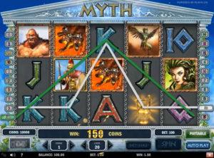 Myth slotmaskinen SS-07