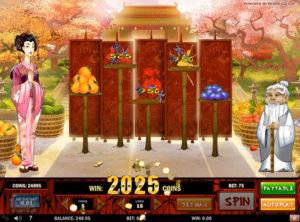 Ninja Fruits slotmaskinen SS-13