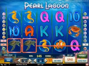 Pearl Lagoon slotmaskinen SS-01