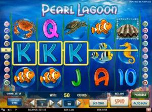 Pearl Lagoon slotmaskinen SS-05