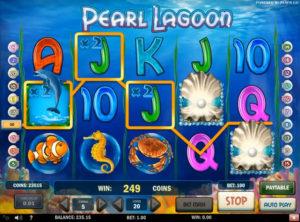 Pearl Lagoon slotmaskinen SS-07