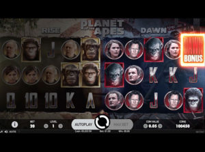 Planet Of The Apes slot SS 5