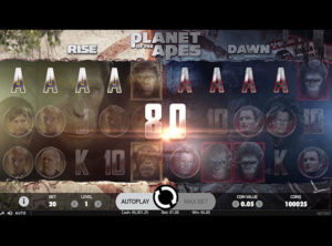 Planet Of The Apes slot SS 9